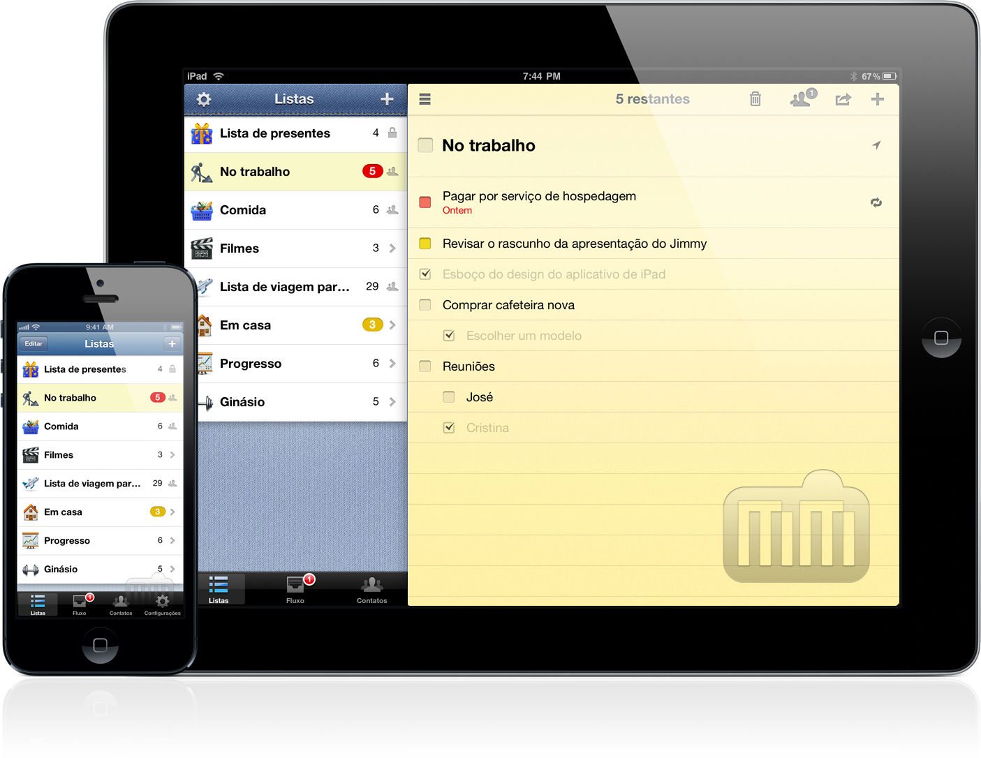 Pocket Lists - iPhone e iPad