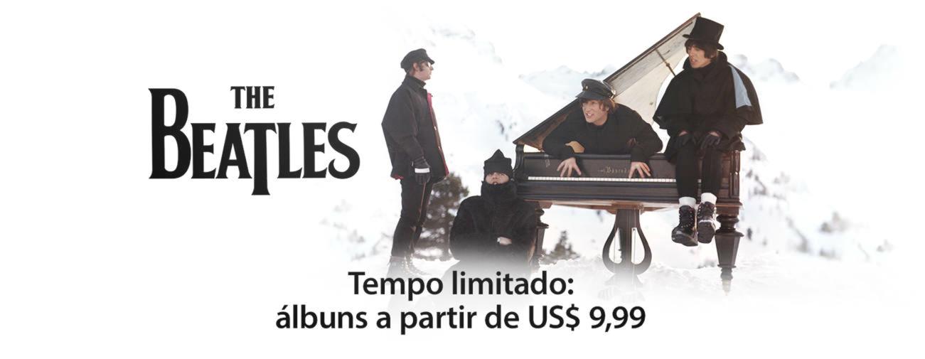 Beatles em oferta na iTunes Store