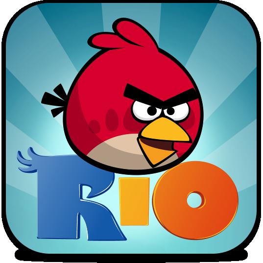 Ícone do jogo Angry Birds Rio