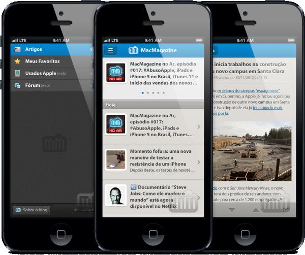 App do MacMagazine em iPhones