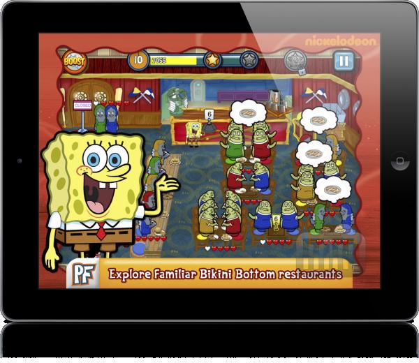 SpongeBob Diner Dash (iPad)