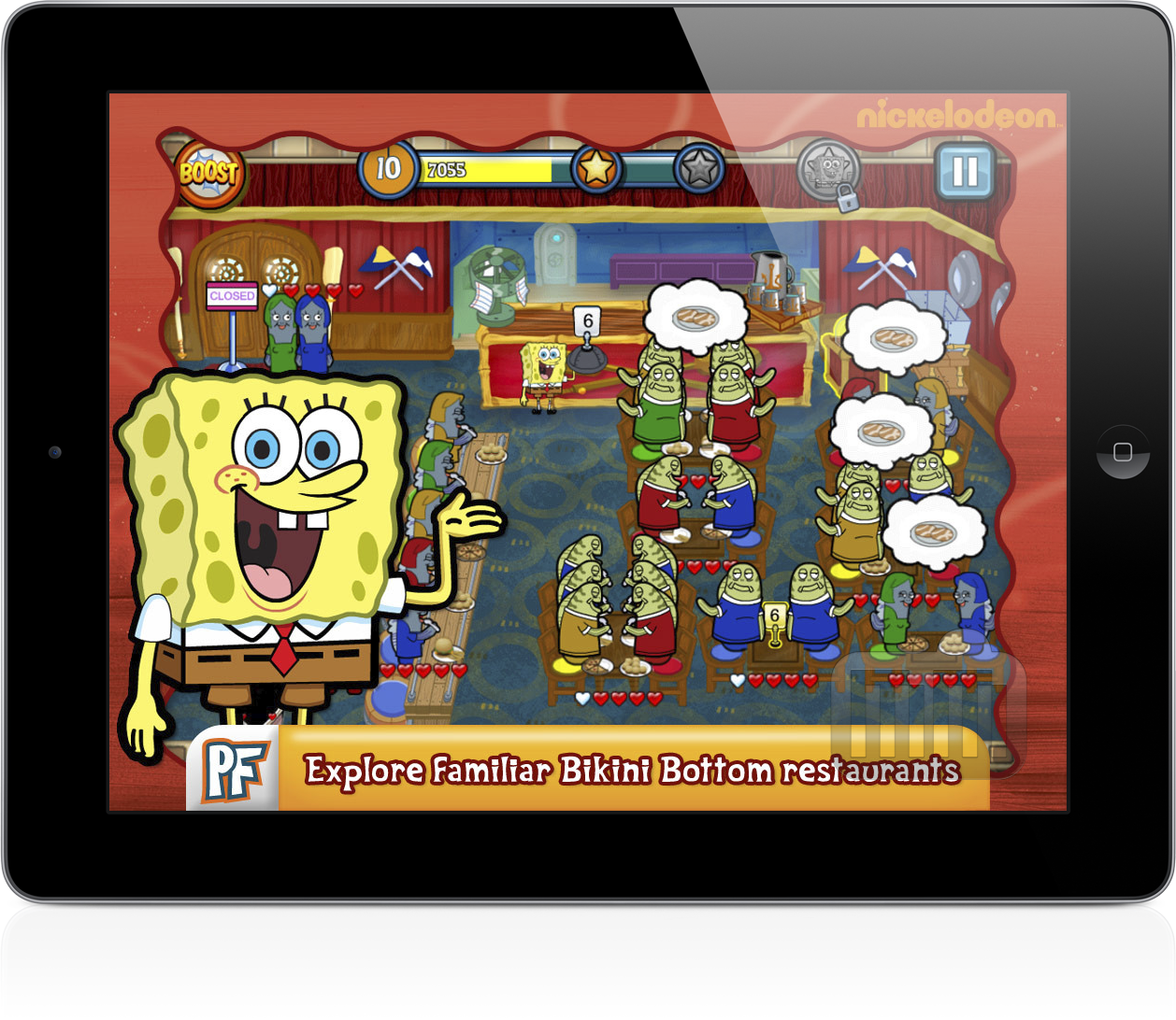 SpongeBob Diner Dash (iPad)
