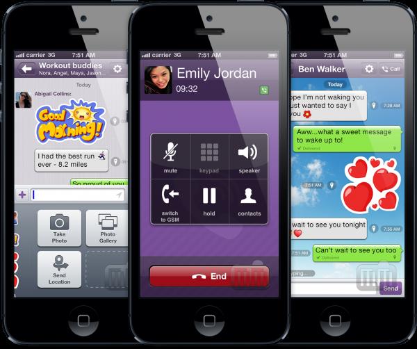 Viber - iPhones