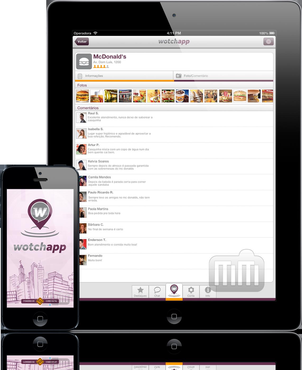 Wotchapp - iPad e iPhone