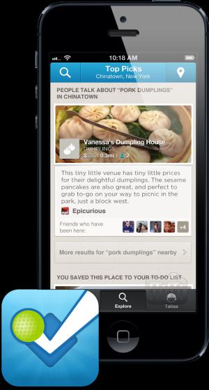 Foursquare (IPhone 5)