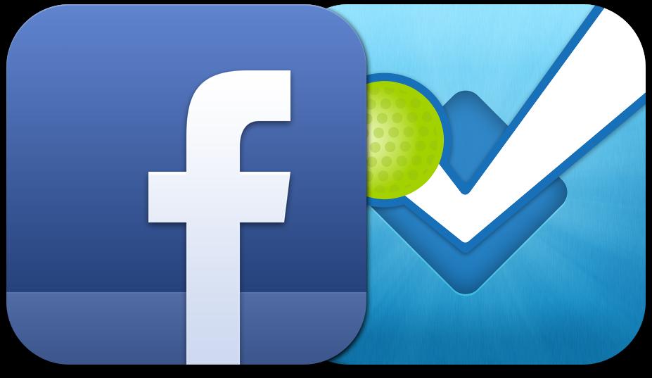 Ícone - Facebook e foursquare