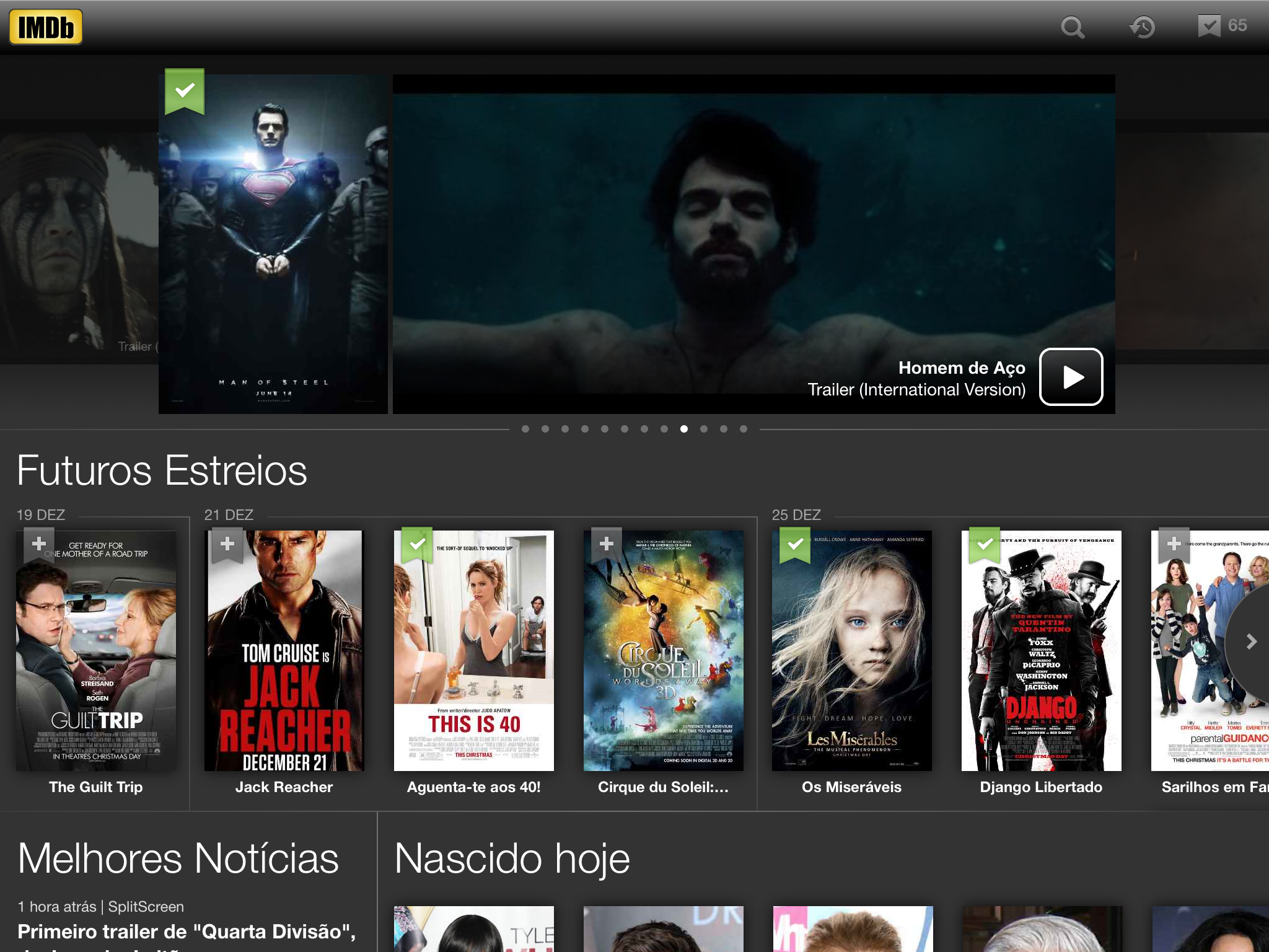 IMDb no iPad