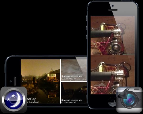 NightCap e Cortex Camera (iPhone 5)