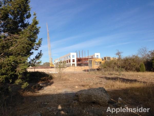 Campus da Apple em Austin, em construção