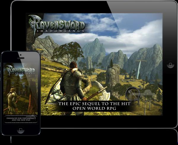 Ravensword: Shadowlands (iPad e iPhone 5)