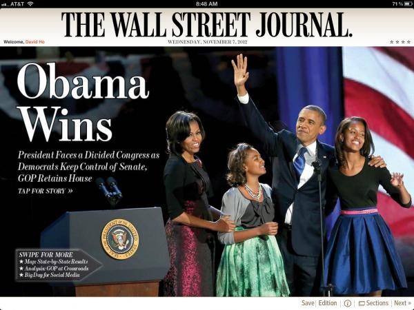 The Wall Street Journal - iPad