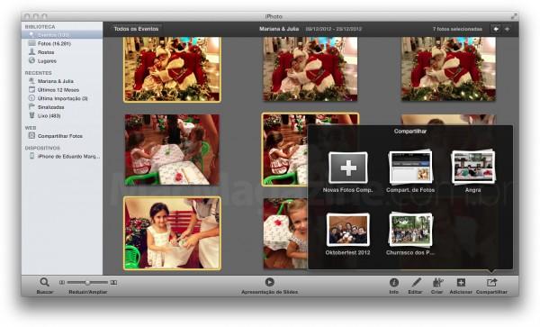 Compartilhar Fotos