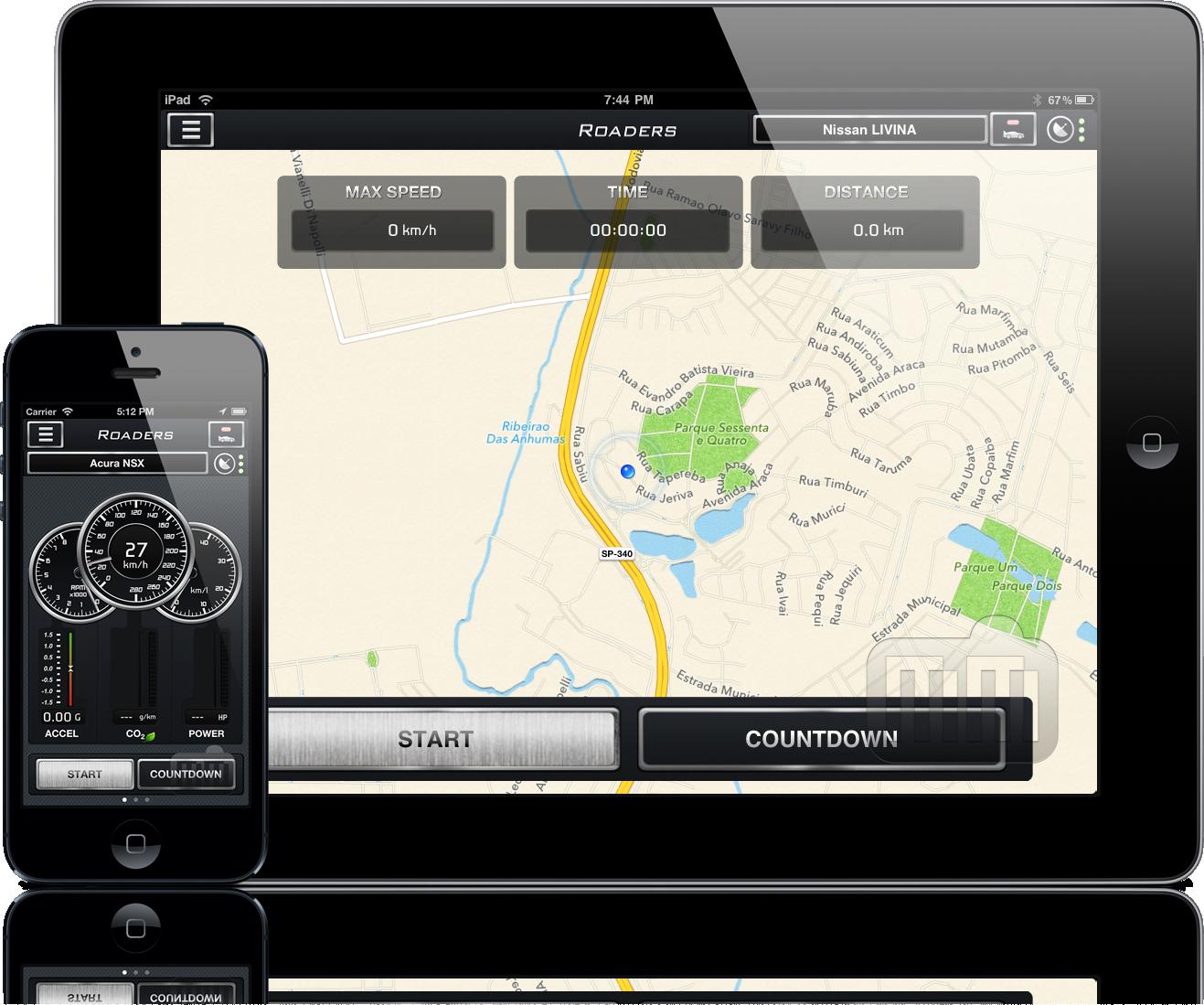 Roaders - iPad e iPhone