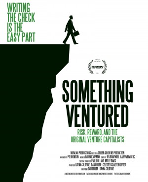 Pôster do documentário Something Ventured