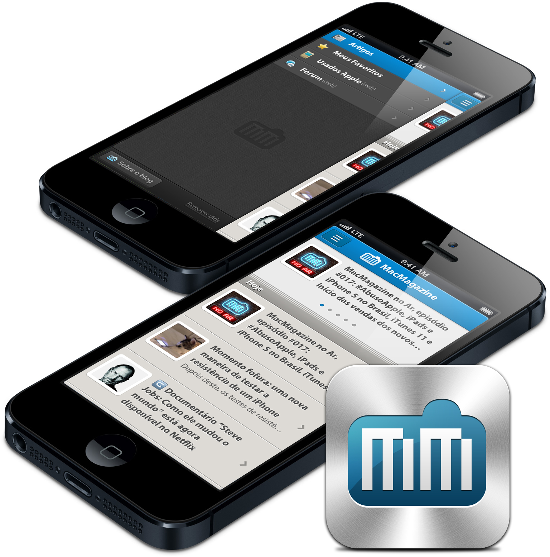 App do MacMagazine em iPhones 5