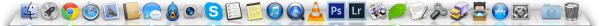 Meu Dock do OS X - Rafael Fischmann