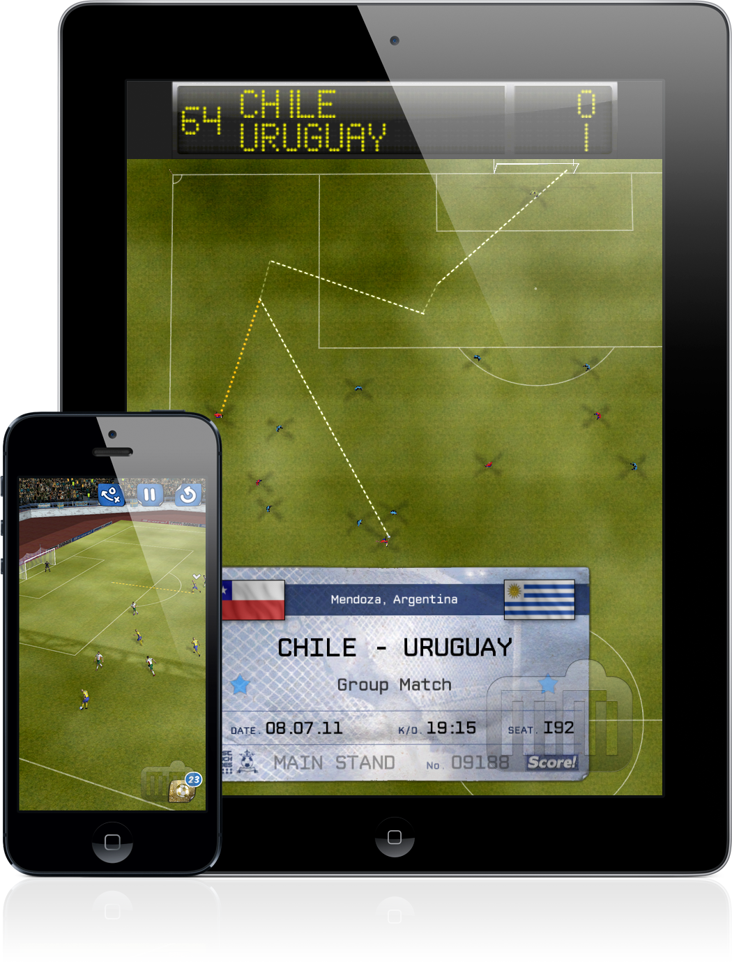 Score! Classic Goals - iPad e iPhone
