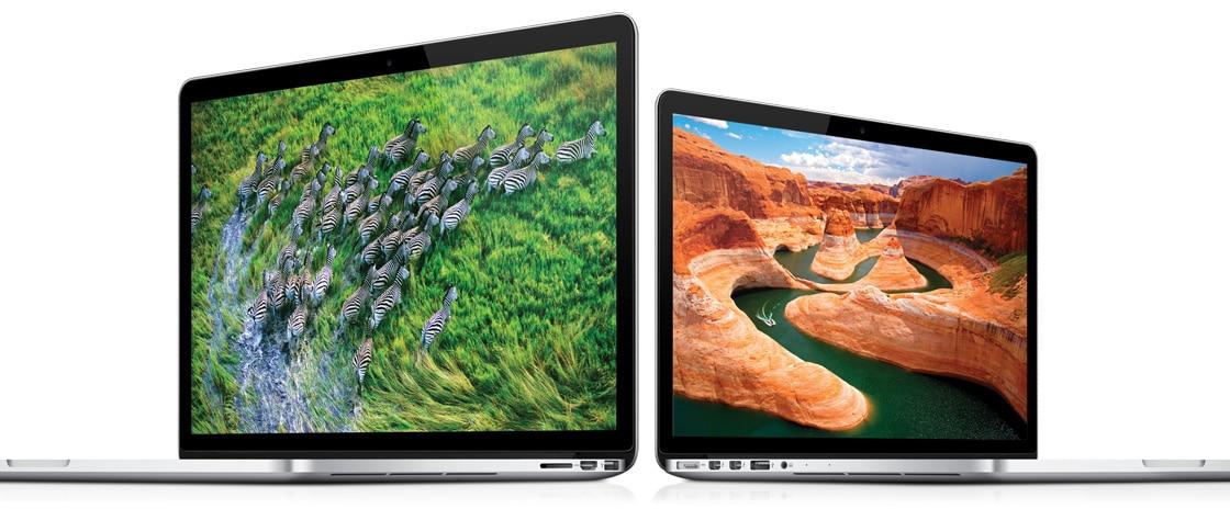 MacBooks Pro com tela Retina