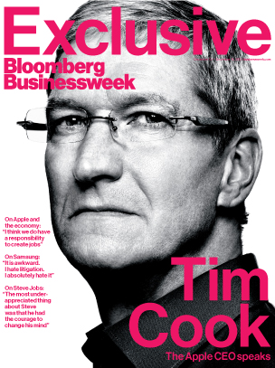 Tim Cook no Businessweek