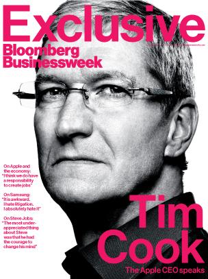 Tim Cook no Businessweek