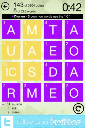 Wordament SS 1 - iPhone
