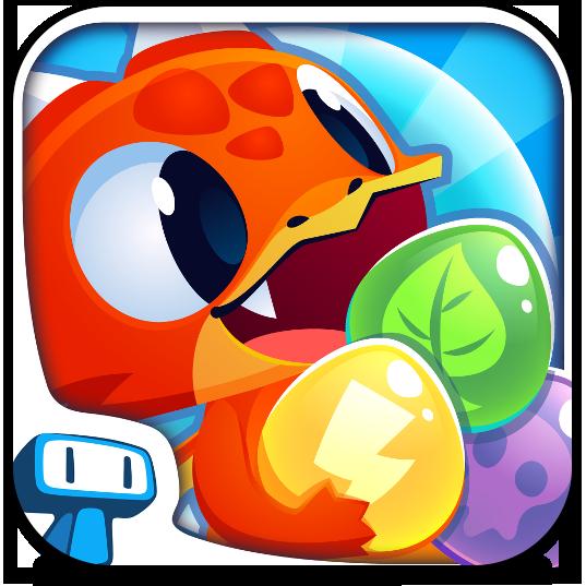 Ícone do Bubble Dragon para iOS