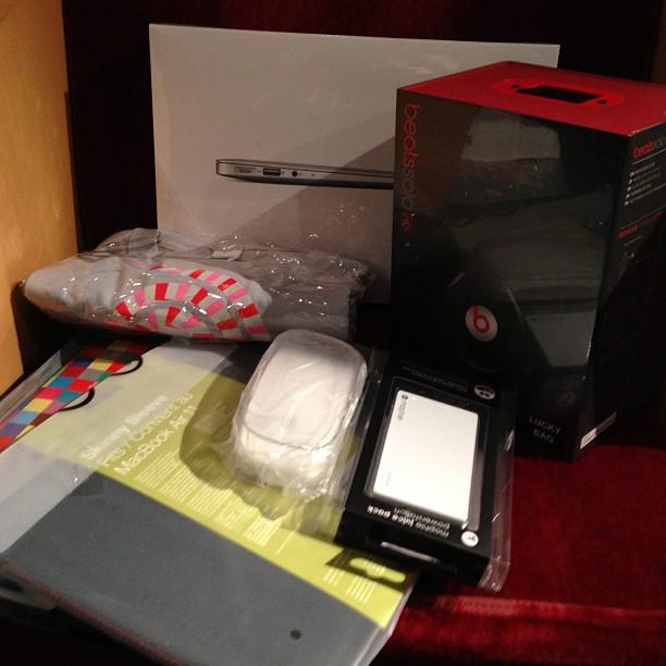 Lucky Bag da Apple no Japão