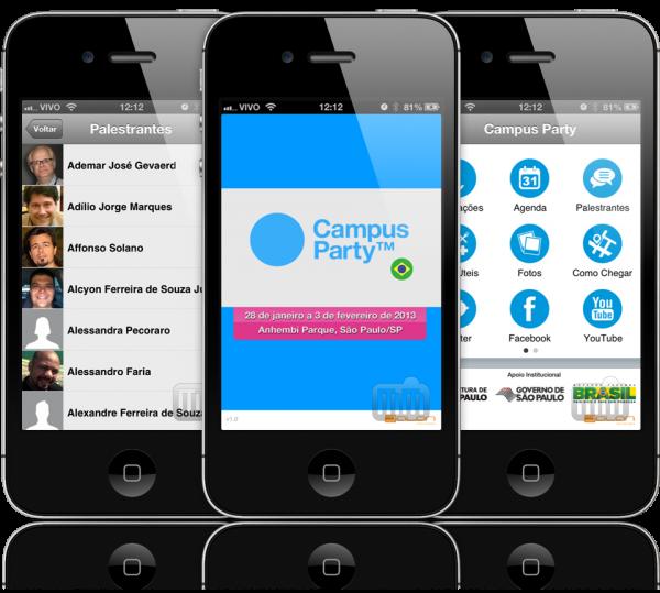 Campus Party 2013 - iPhones