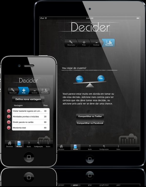 Decider - iPad e iPhone