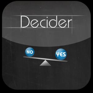 Ícone - Decider