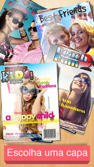 Capas de Revista - iPhone