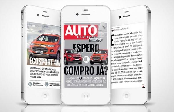 Autoesporte em iPhones