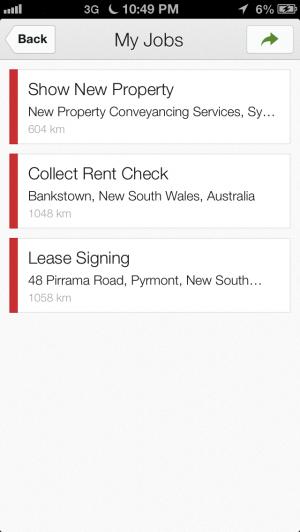Google Coordinate - iPhone