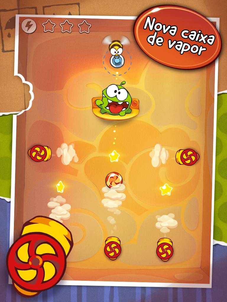 Nova caixa de Cut the Rope