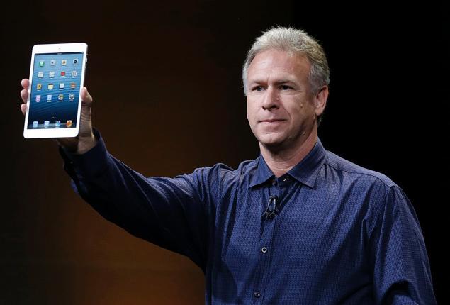 Phil Schiller apresentando o iPad mini