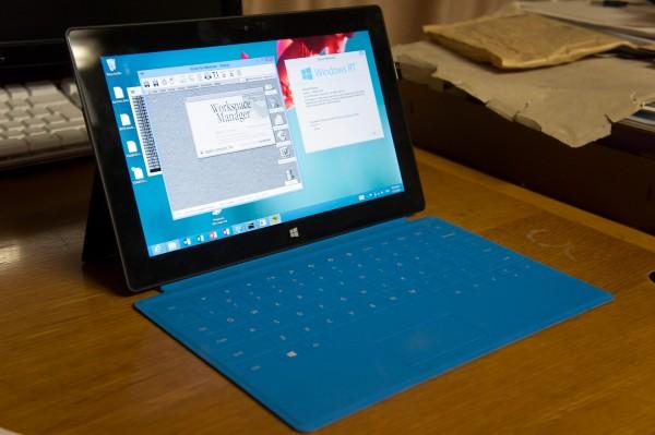 Surface RT rodando versão experimental Mac OS X
