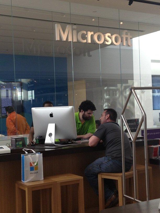 iMac em Microsoft Store