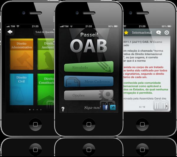 Passei! OAB - iPhones
