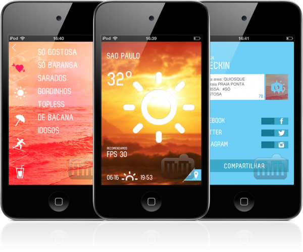 A PRAIA - iPods touch