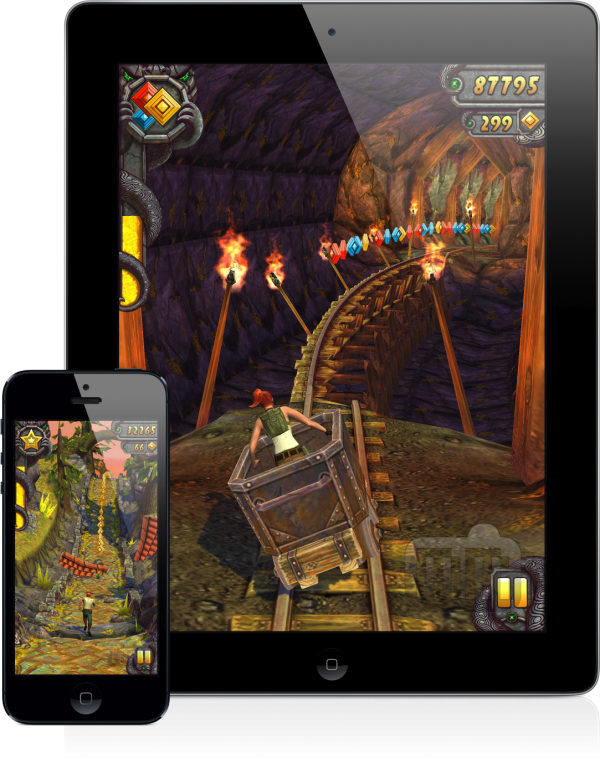Temple Run 2 (iPhone 5 e iPad)