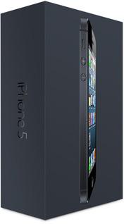 Caixa do iPhone 5