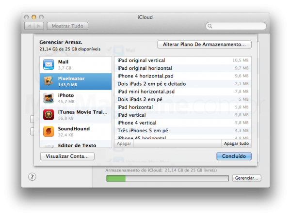 iCloud no OS X