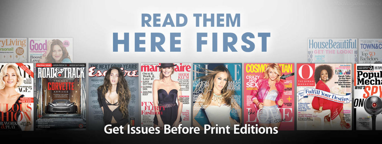 Read Them Here First - Hearst na App Store