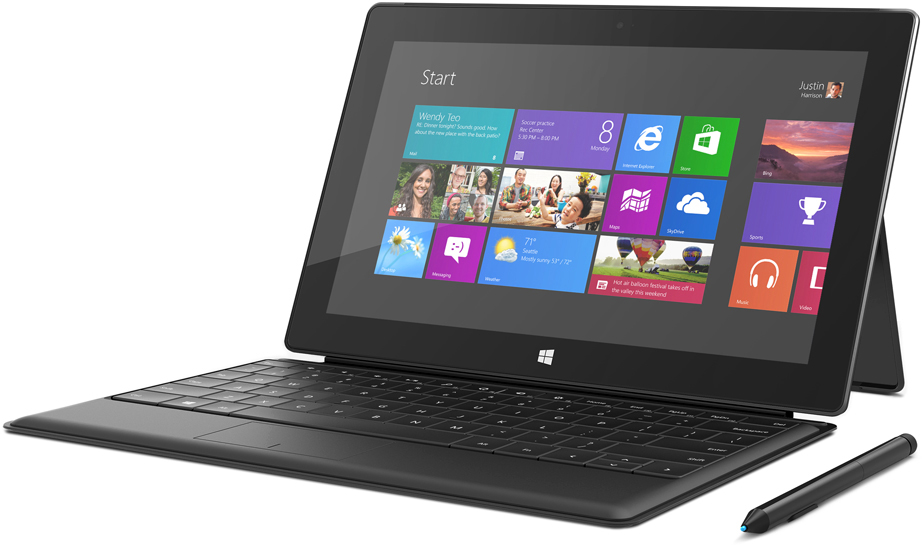 Microsoft - Surface Windows 8 Pro