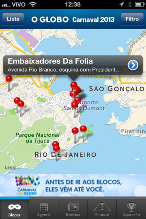 O Globo Carnaval 2013