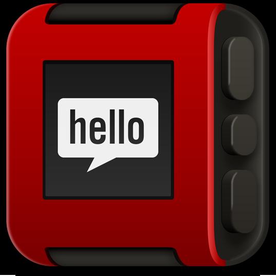 Ícone - Pebble Smartwatch