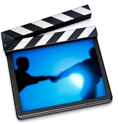Ícone antigo do iMovie