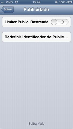 Novidade do iOS 6.1 no iPhone 5