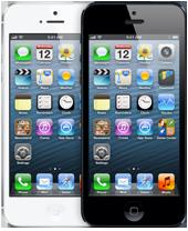 iPhones 5 de frente