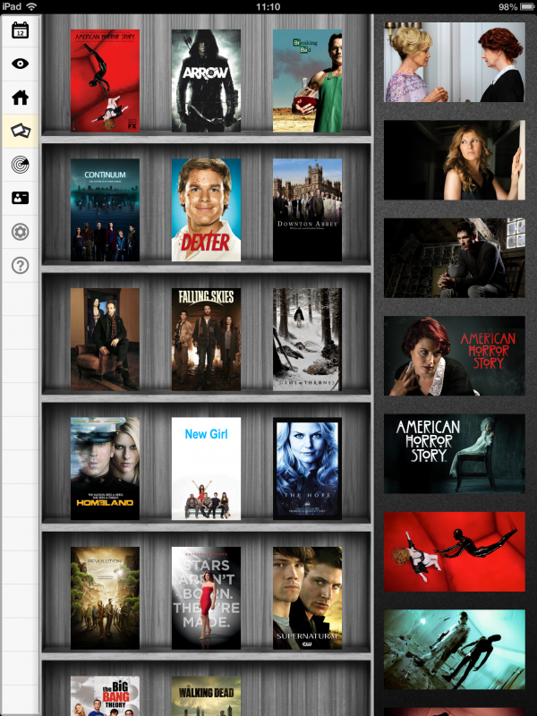 TvShow Time - iPad